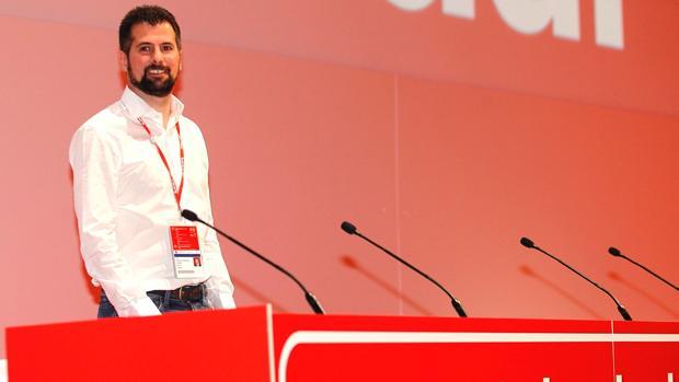 Luis Tudanca, durante el 39 Congreso Federal del PSOE este pasado fin de semana