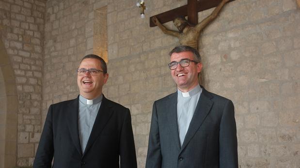 Sergi Gordo (izquierda) y Antoni Vadell tras hacerse público el nombramiento
