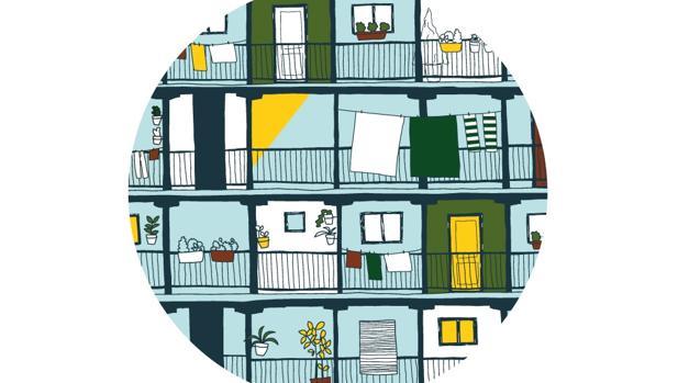 Una de las ilustraciones diseñadas por Peseta