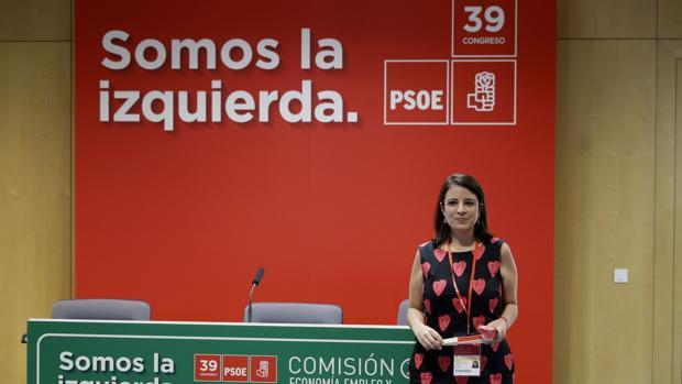 Adriana Lastra, nueva portavoz adjunta del PSOE en el Congreso de los Diputados