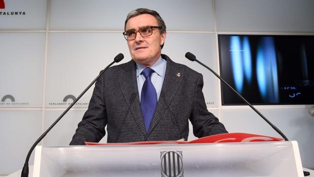 Ángel Ros, alcalde de Lérida,