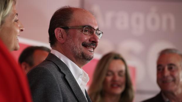 Javier Lambán, líder del PSOE aragonés y presidente del Gobierno regional