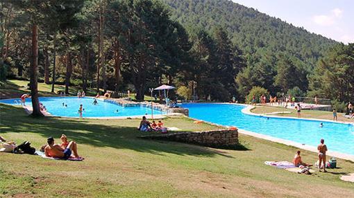 El canal de isabel ii no abrir este verano la piscina de for Piscinas las berceas