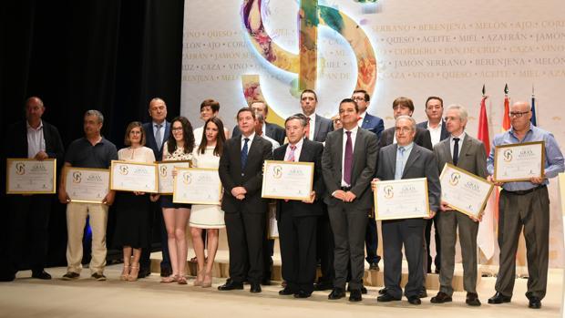 Gala de entrega de los Premios «Gran Selección 2017» en Tarancón (Cuenca)