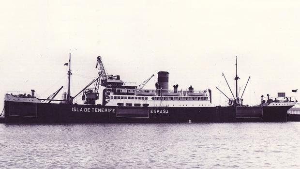 El 'Isla de Tenerife' hizo rutas entre Canarias y Nueva York por la neutralidad de España en la SGM