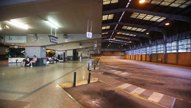 Imagen de la estación de autobuses de Santiago de Compostela