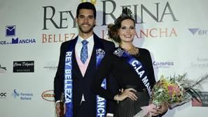 Cristian Martínez y Mabel Real, rey y reina de la belleza de Castilla-La Mancha