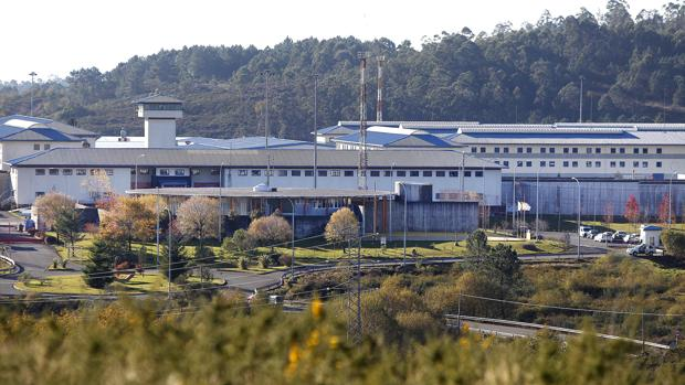 Exteriores de la cárcel de A Lama, en Pontevedra