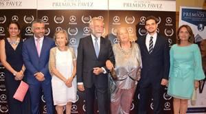 Terele Pávez junto a Jaime Ramos en la premios que llevan el nombre de la actriz