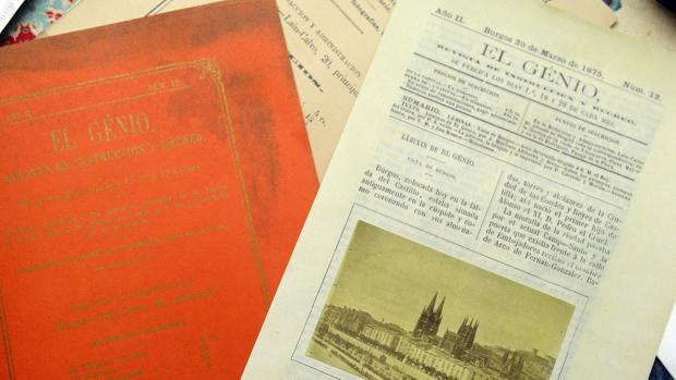 Detalle de la portada y de una de las páginas
