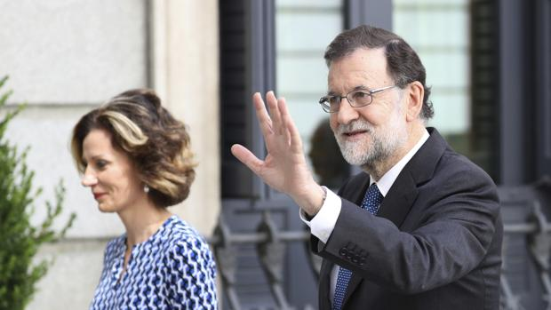 El presidente del Gobierno, Mariano Rajoy, el miércoles en el Congreso