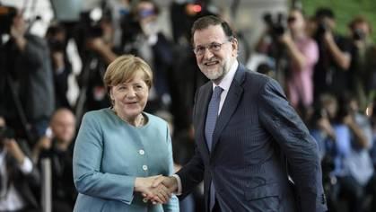 Rajoy se une a Merkel y Macron para defender el libre comercio