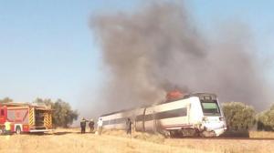 Restablecido el tráfico ferroviario en la línea Madrid-Cáceres