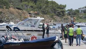 Un muerto y dos heridos en la explosión de un barco en Cadaqués
