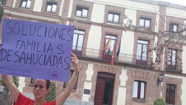 Protestas en Carabanchel