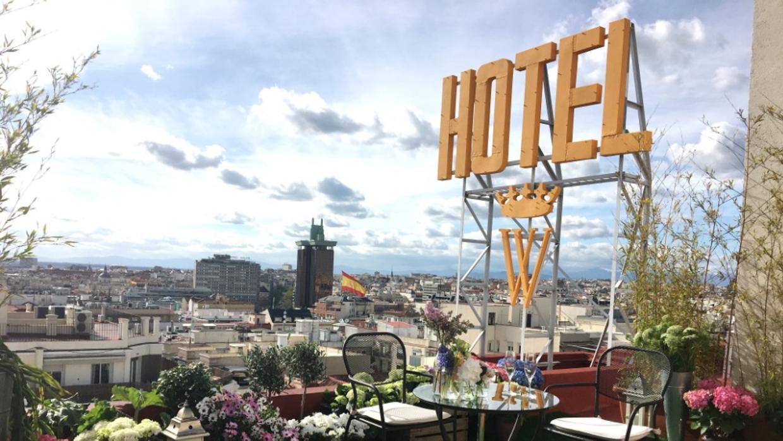 Hotel wellington una azotea en exclusiva para cenas - Terrazas romanticas madrid ...