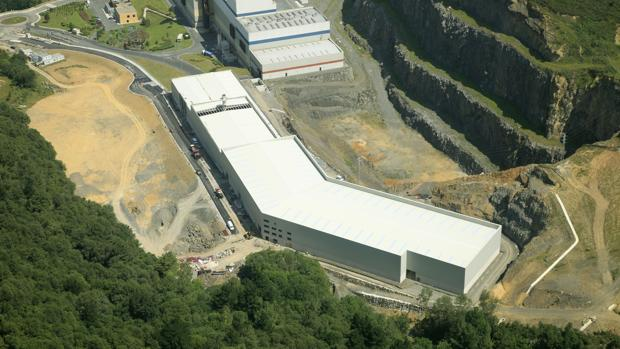 La planta de Bilbao en la que ha aparecido el bebé