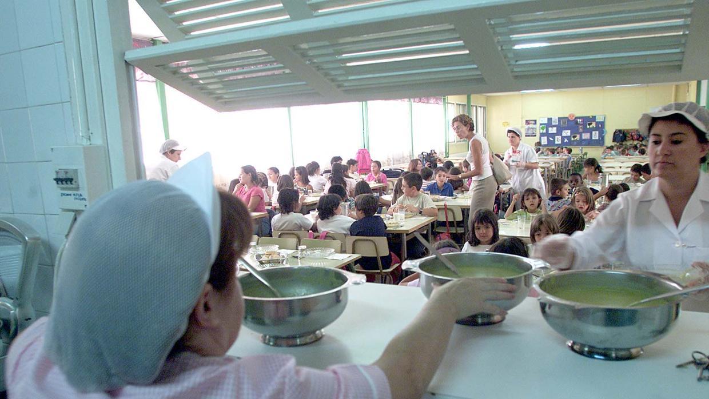 la comunidad paga el comedor escolar para ni os