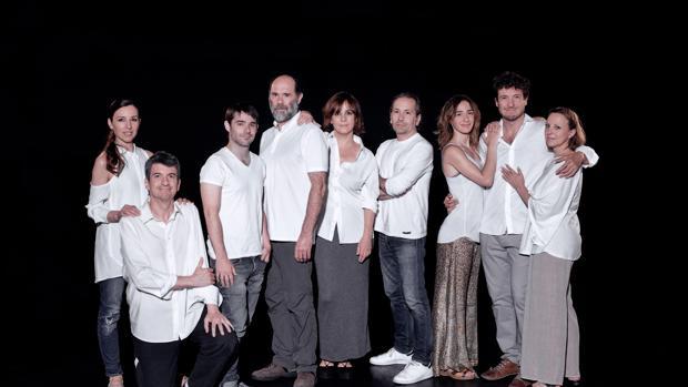 """Reparto de la obra la """"Dama duende"""" que inaugura este jueves el festival de teatro"""