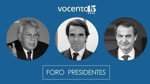 Vocento reúne a González, Aznar y Zapatero para celebrar los 40 años de democracia