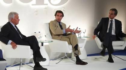González, Aznar y Zapatero cierran filas ante el órdago secesionista