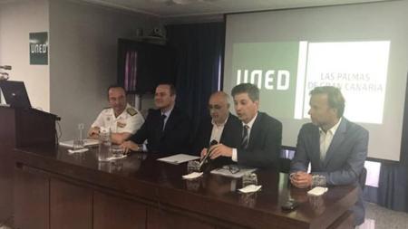 Apertura del curso 'Seguridad, paz y defensa en Canarias' en la UNED Las Palmas