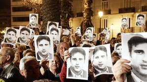 Imagen de archivo de una manifestación en honor a Miguel Ángel Blanco