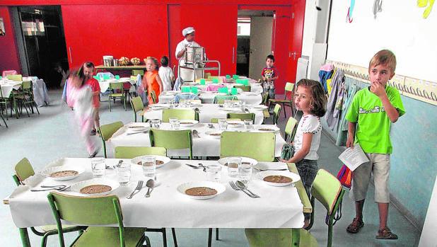 Los padres dan una nota de 7 8 a los comedores escolares for Comedores castilla y leon