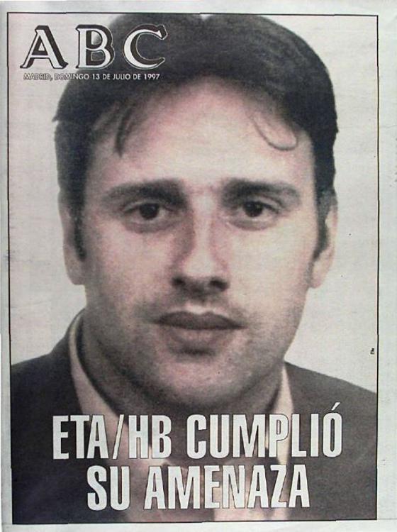 Resultado de imagen de asesinato Miguel angel blanco portada abc