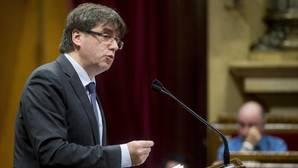 Puigdemont ha comparecido en el Parlament para explicar el cese de Baiget