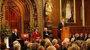 Don Felipe se convierte en el segundo monarca español en dirigirse a los diputados británicos