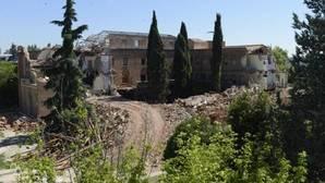 Aspecto actual del convento de las Damas Apostólicas de Madrid