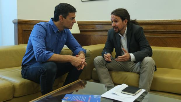 Hemeroteca: Sánchez e Iglesias se reunirán este lunes con sus equipos en el Congreso   Autor del artículo: Finanzas.com