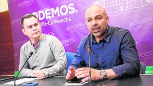 David Llorente, a la izquierda, junto a José García Molina