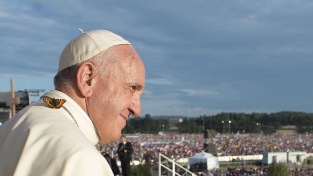 El Papa Francisco en una instantánea tomada en su visita a Polonia