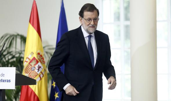Rajoy asegura que el referéndum catalán no se celebrará «porque va en contra de todas las leyes»