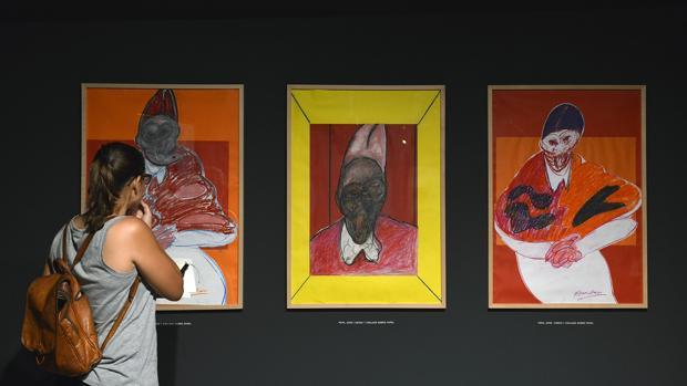 Imagen de la exposición de Francis Bacon