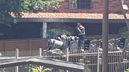 La Policía investiga las causas, en el lugar donde se produjo la colisión