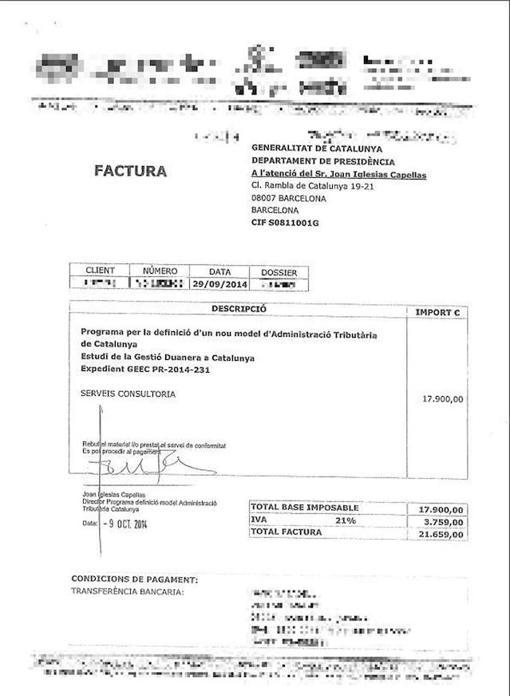 Hemeroteca: La Generalitat pagó miles de euros por diseñar aduanas | Autor del artículo: Finanzas.com