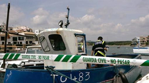 Imagen de una patera que llegó en 2007 a Mallorca