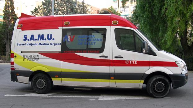 Imagen de archivo de una unidad de SAMU en Alicante
