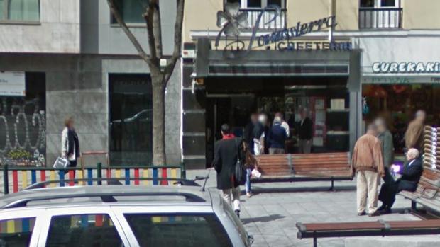 Fachada de la cafetería Somosierra