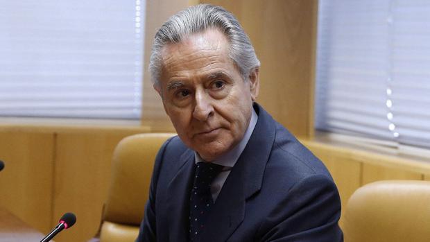 Blesa, en una imagen de archivo, durante su comparecencia en la comisión de investigación de corrupción de la Asamblea de Madrid