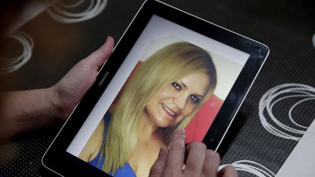 Imagen de una fotografía de Pilar Garrido tomada en el domicilio de su familia en Valencia