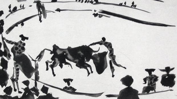 Resultado de imagen para Una exposición dedicada a la tauromaquia con obras de Goya, Picasso y Dalí