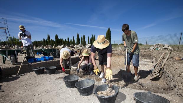 Yacimiento arquelógico de Pintia (Valladolid)