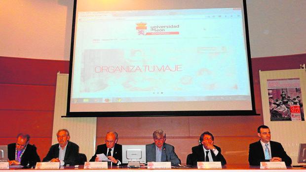 Asistentes a este congreso internacional que se celebró en León