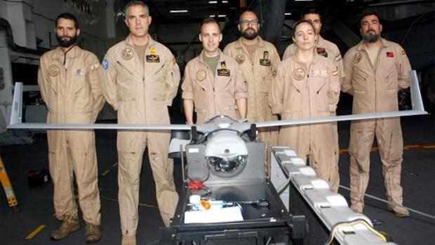 Unidad que tripula el Scan Eagle