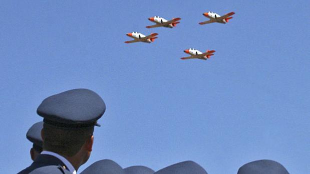 Imagen de archivo de la Académia Básica del Aire de León