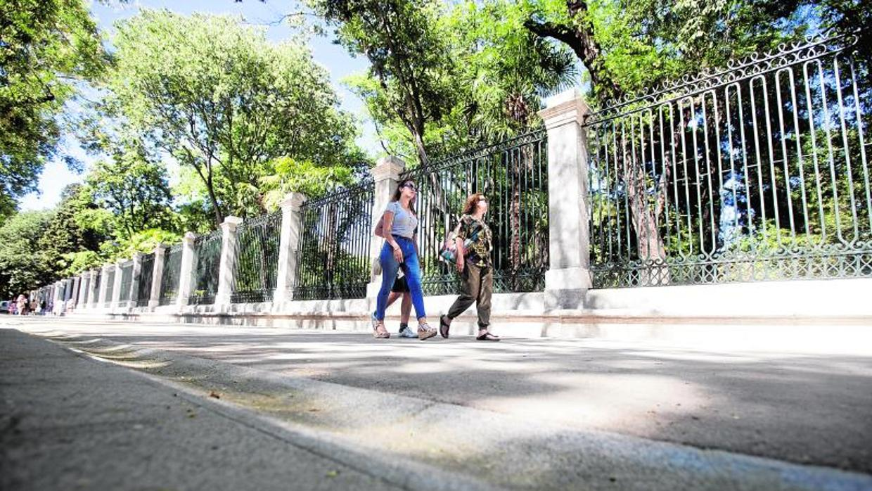 Un paseo hist rico por el per metro exterior del real for Jardin botanico de liubliana